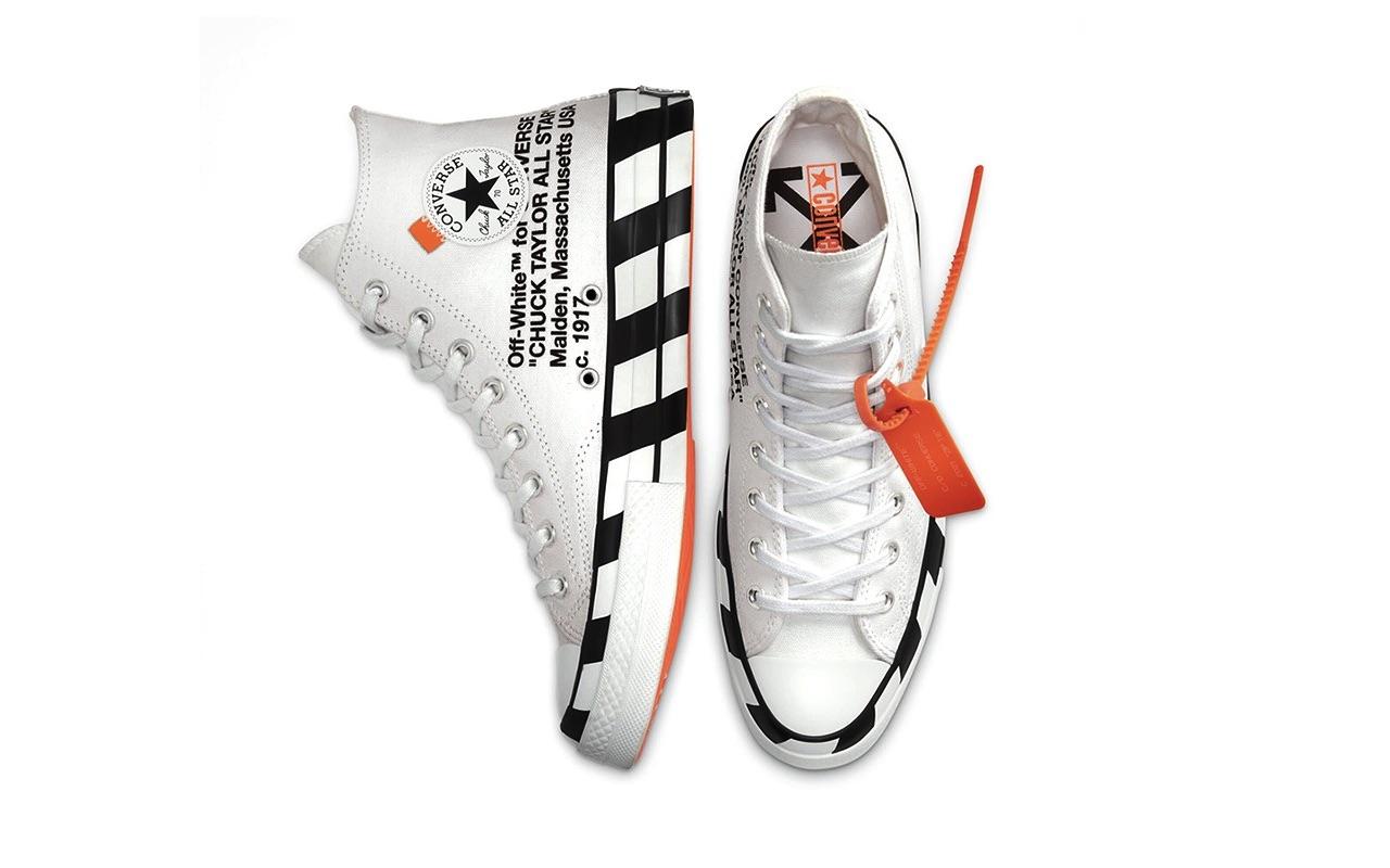 Off-White x Converse Chuck 70 Hi Virgil Abloh Launch