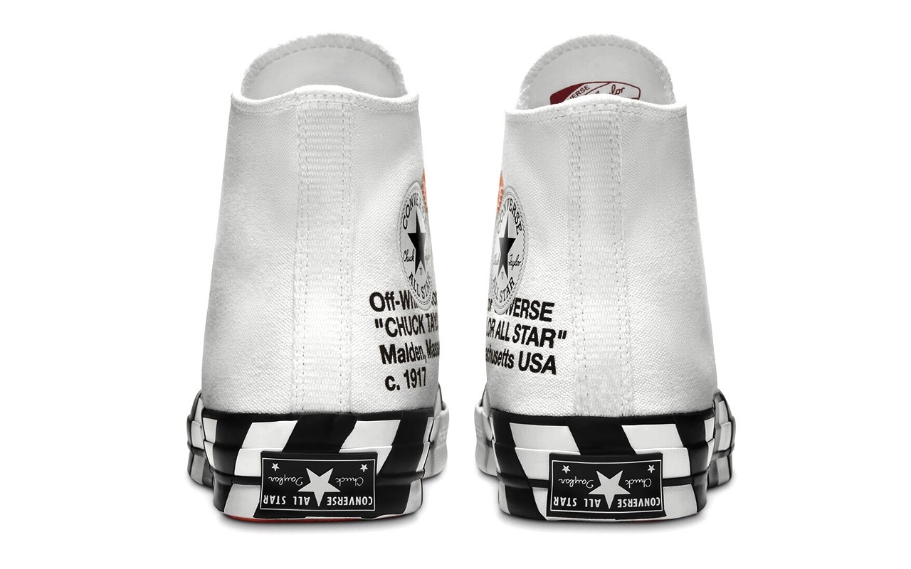 Off-White x Converse Chuck 70 Hi Virgil Abloh Price