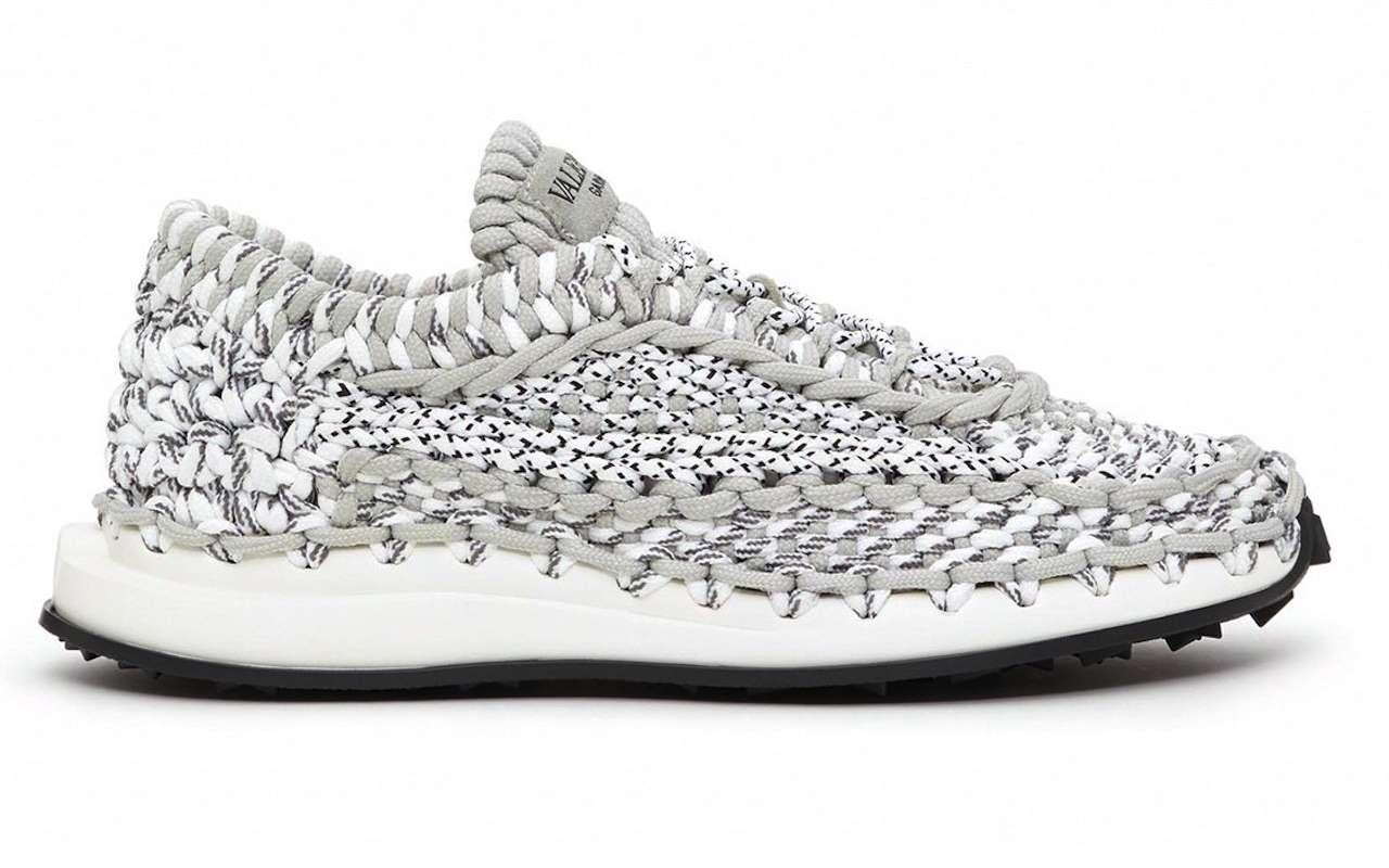 Valentino Garavani Sneakers Macrame Crochet