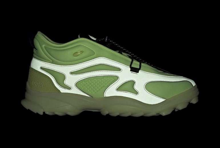 032c x Adidas Originals GSG TR Hi-Res Yellow Pulse Lime Core Black
