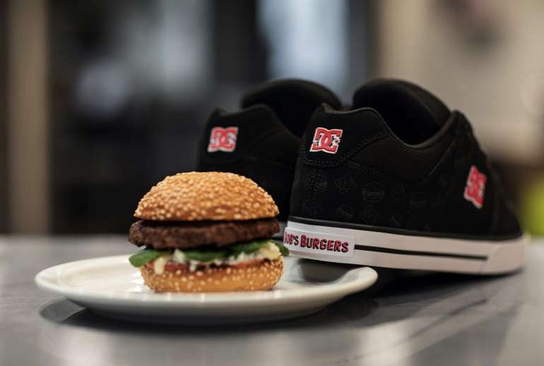DC Shoes Bobs Burgers Sneakers
