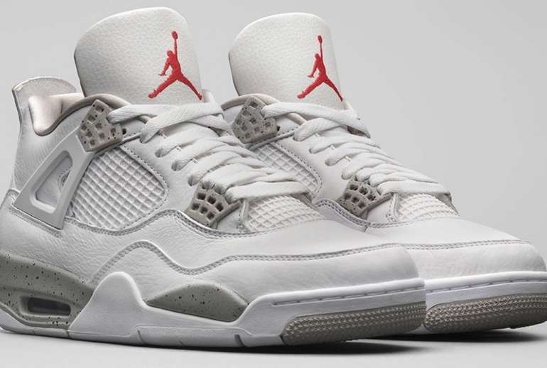 Nike Air Jordan 4 White Oreo