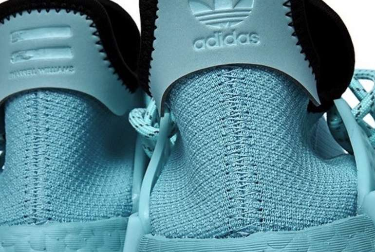 Pharrell x Adidas NMD Hu Clear Aqua Available
