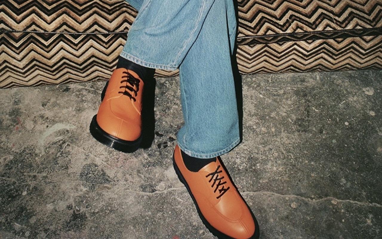 Supreme Dr. Martens 5-Eye Shoe 2021 Collab Orange
