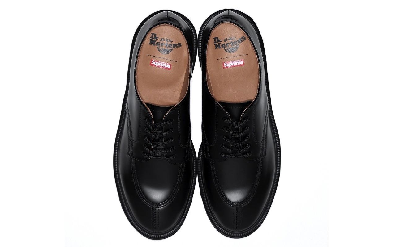 Supreme Dr. Martens 5-Eye Shoe Spring Summer 2021 Black Where to Buy