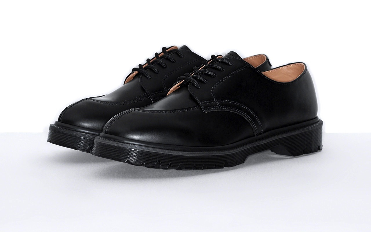 Supreme Dr. Martens 5-Eye Shoe Spring Summer 2021 Black