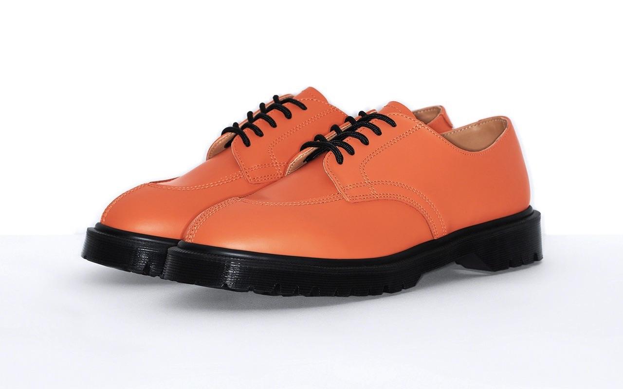 Supreme Dr. Martens 5-Eye Shoe Spring Summer 2021 Orange Price