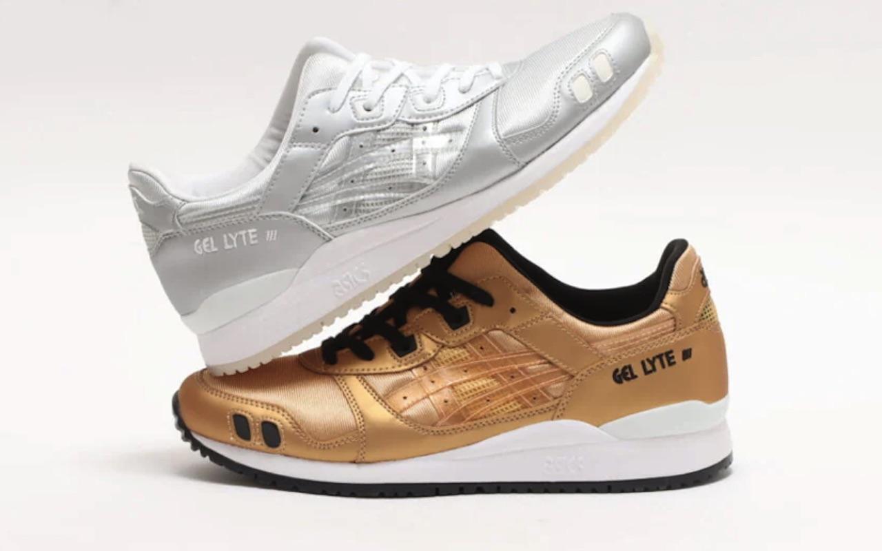ASICS GEL-LYTE III OG Metallic Gold 2