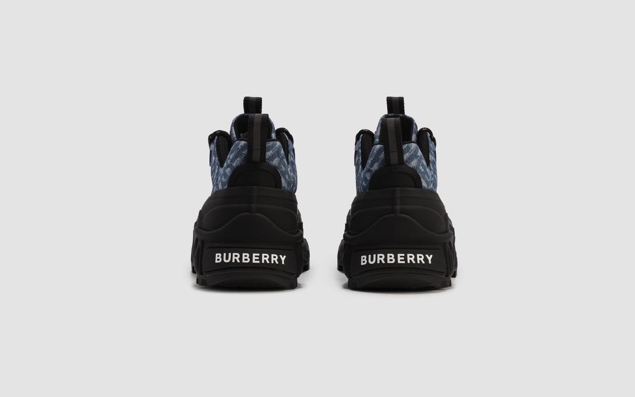 Burberry Arthur Sneaker Monogram Denim 3