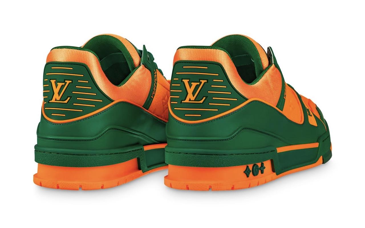 Louis Vuitton LV Trainer Sneaker Vert Colorway