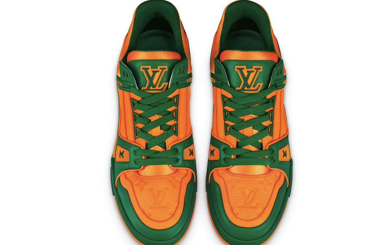 Louis Vuitton LV Trainer Sneaker Vert Price