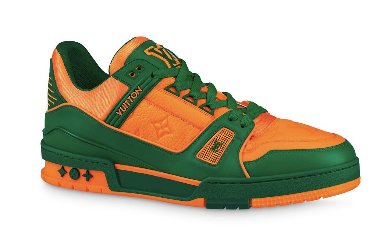 Louis Vuitton LV Trainer Sneaker Vert