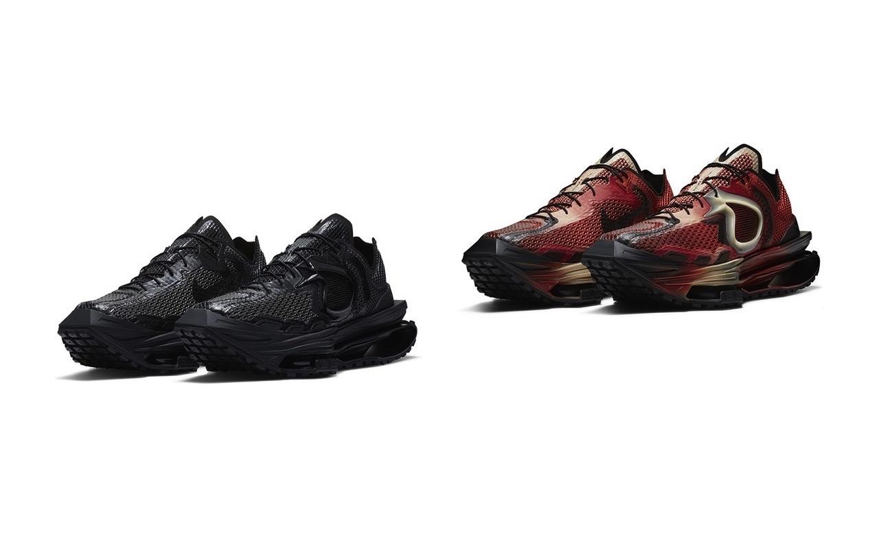Matthew M Williams Nike Zoom MMW 004 Rust Factor Black