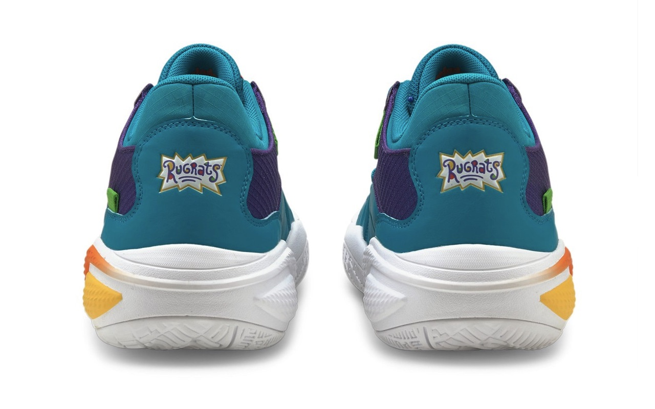 Nickelodeon Puma Hoops Rugrats 30th Anniversary Sneakers Design