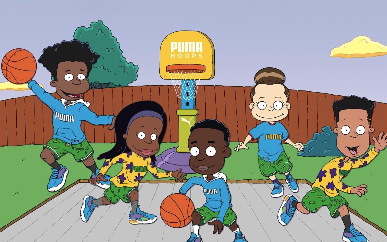 Nickelodeon Puma Hoops Rugrats