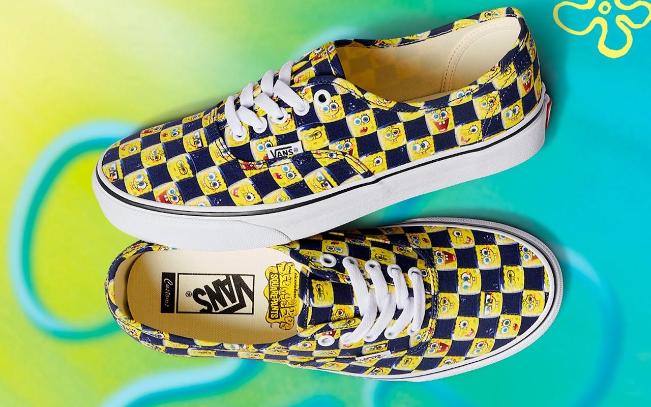 SpongeBob SquarePants Vans Customs Collection