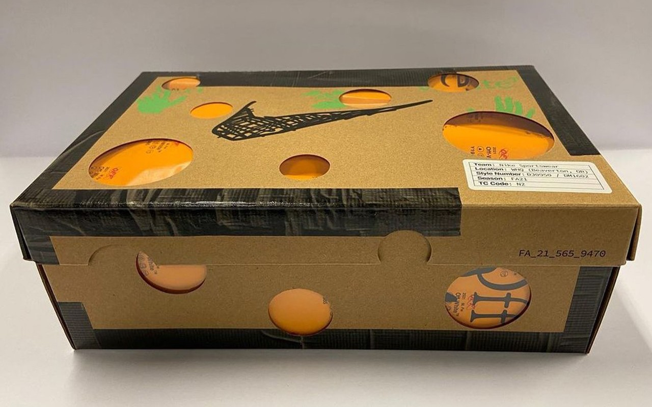 Virgil Abloh Off-White Nike Collection Nike Dunk Low Dear Summer Shoebox 5