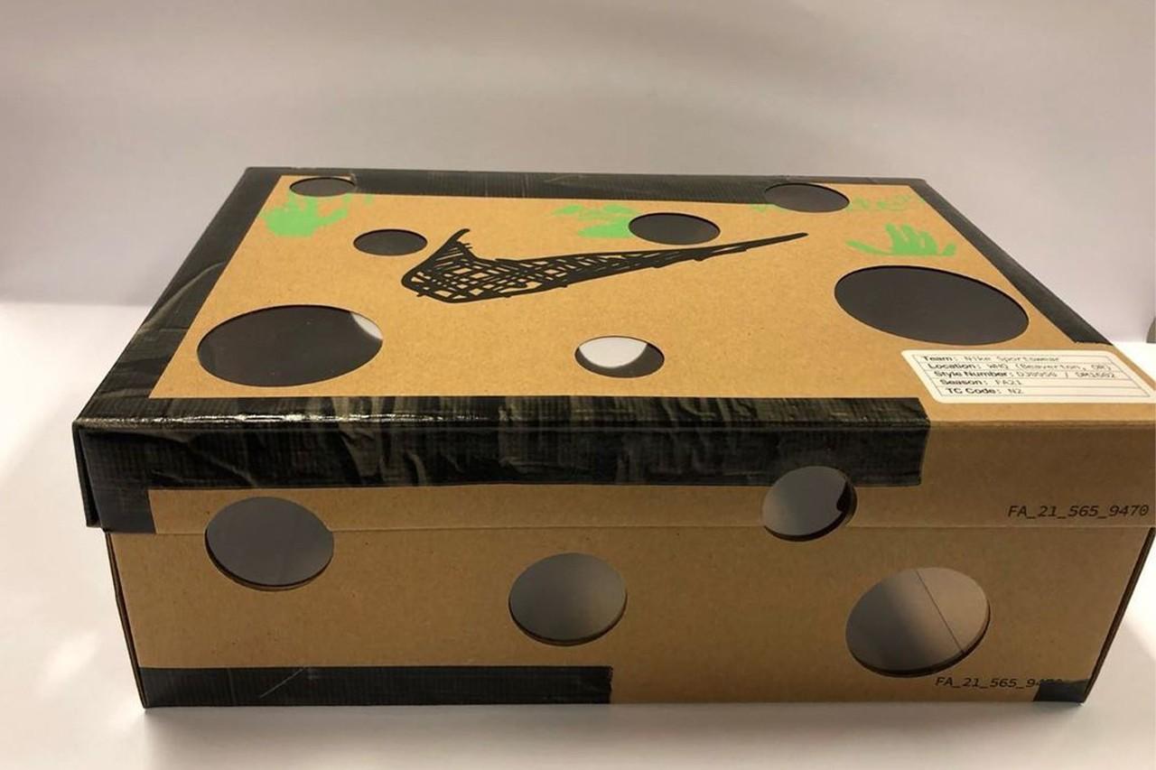 Virgil Abloh Off-White Nike Collection Nike Dunk Low Dear Summer Shoebox 6