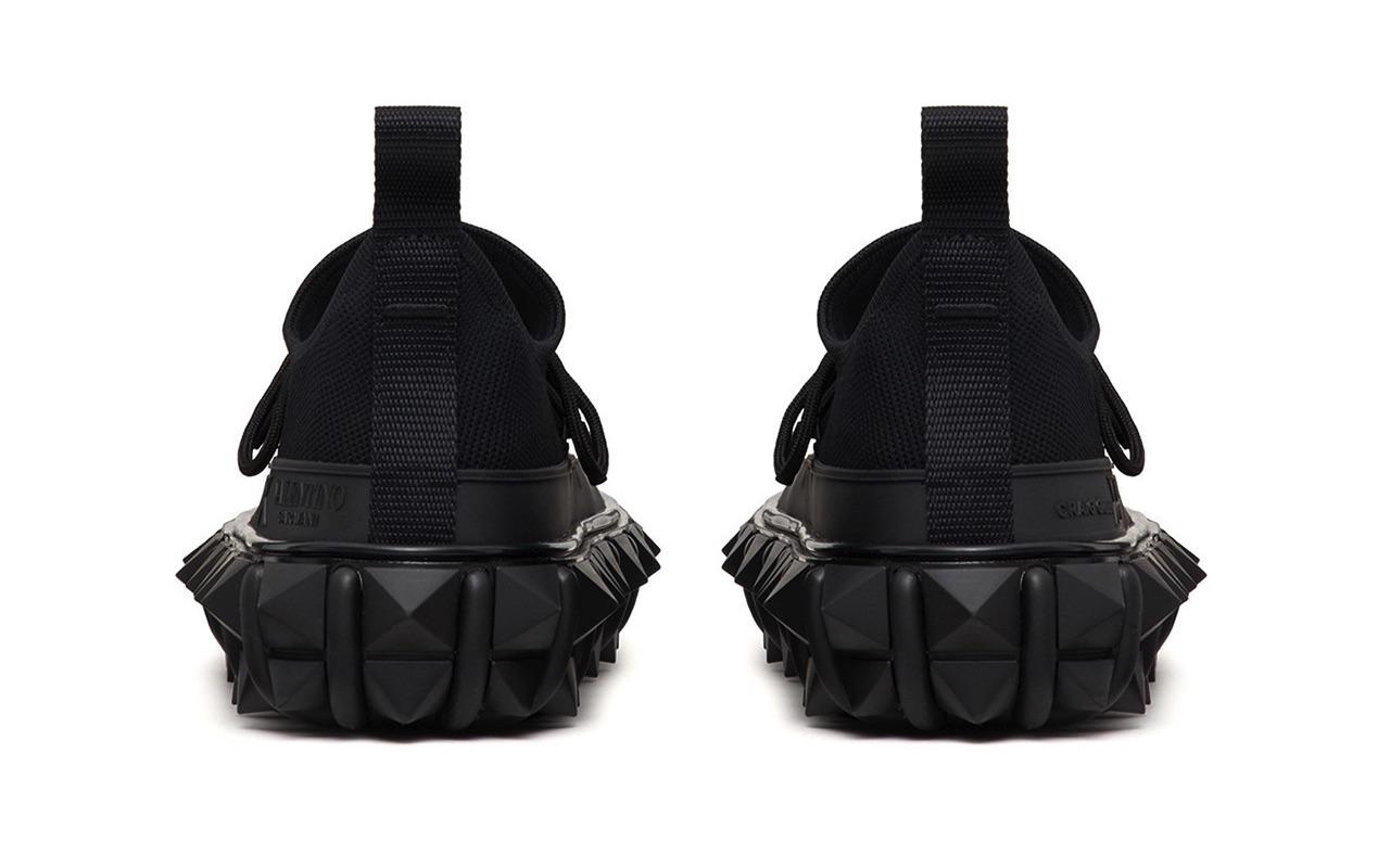 Craig Green X Valentino Garavani Rockstud X Sneakers Black 2