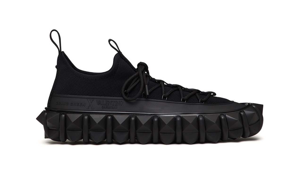 Craig Green X Valentino Garavani Rockstud X Sneakers Black 3