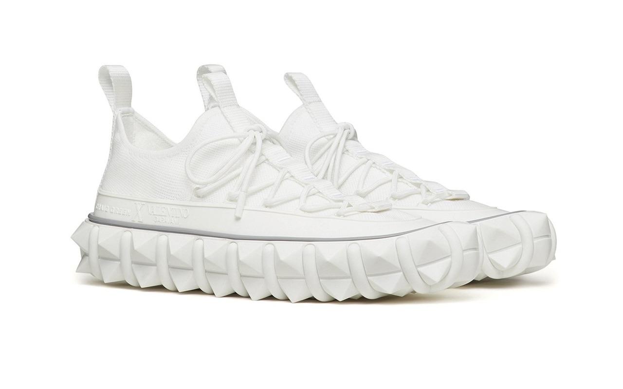 Craig Green X Valentino Garavani Rockstud X Sneakers White 2