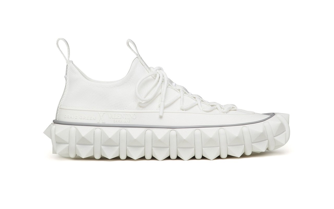Craig Green X Valentino Garavani Rockstud X Sneakers White 3