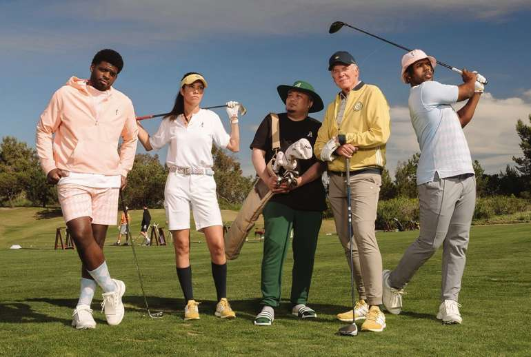 Extra Butter Adidas Golf Happy Gilmore 25th Anniversary Edition