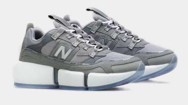 Jaden Smith New Balance Vision Racer Gray Silver Colorway