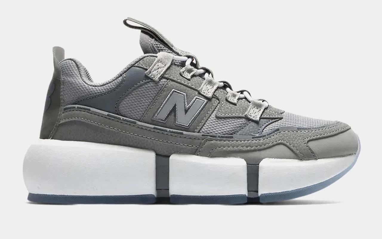 Jaden Smith New Balance Vision Racer Gray Silver Where to Buy