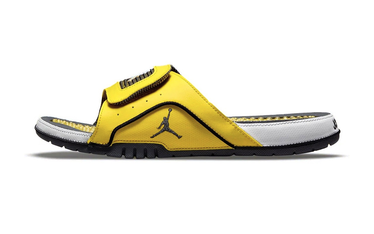 Jordan Brand Air Jordan Hydro Slide IV Lightning Colorway