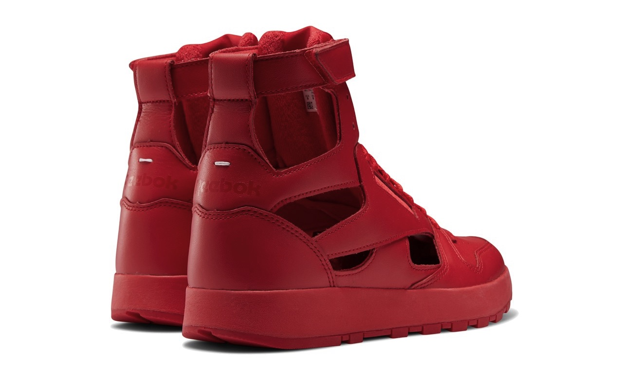 Maison Margiela Reebok Classic Leather Tabi High Gladiator Red 3