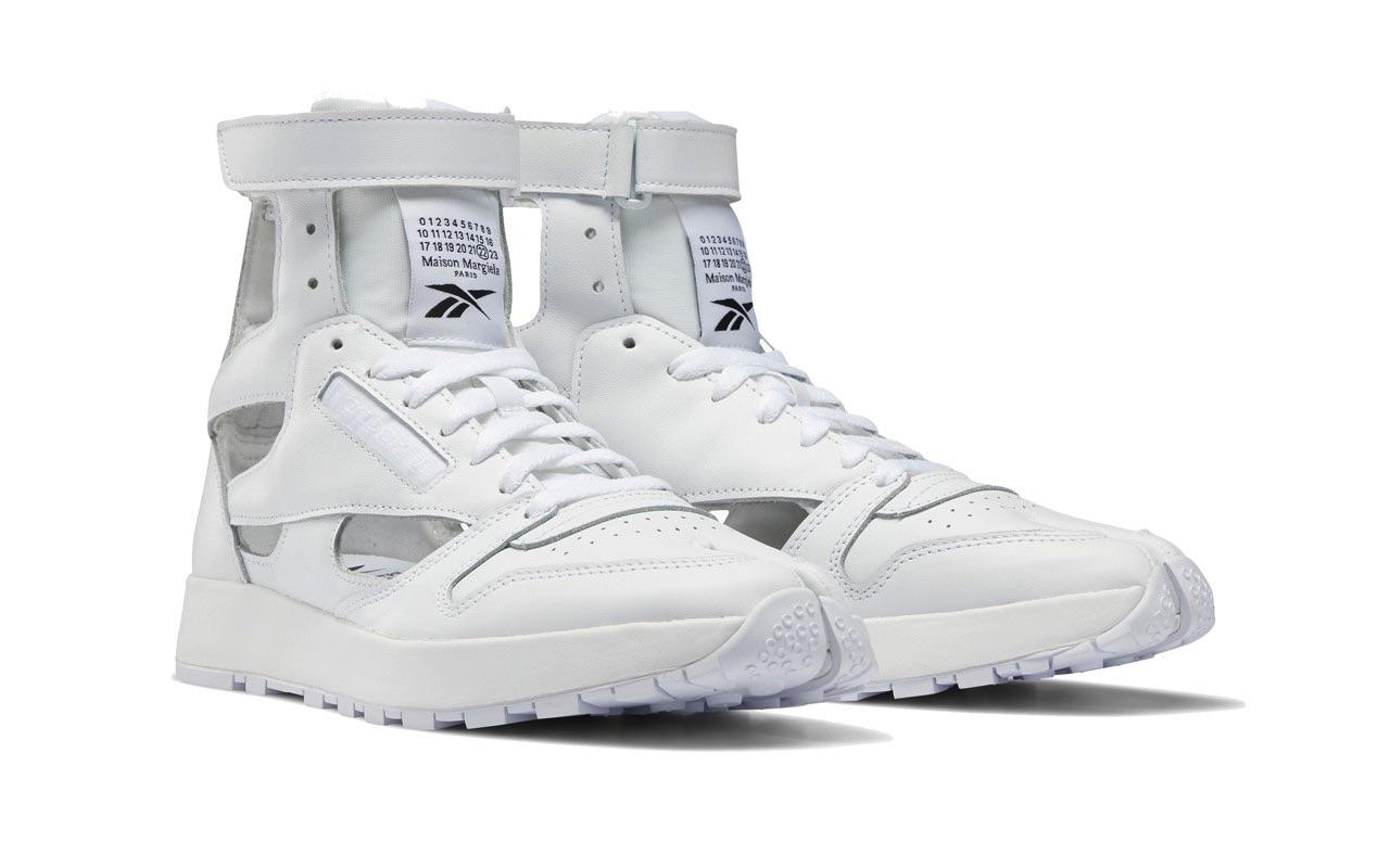 Maison Margiela Reebok Classic Leather Tabi High Gladiator White 2