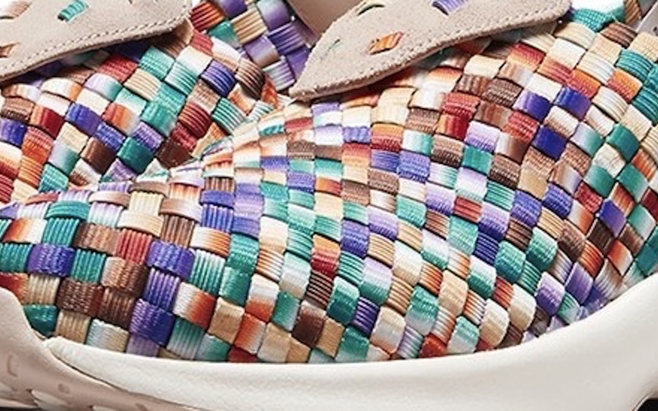 Nike Air Woven Multi-Color Sneakers