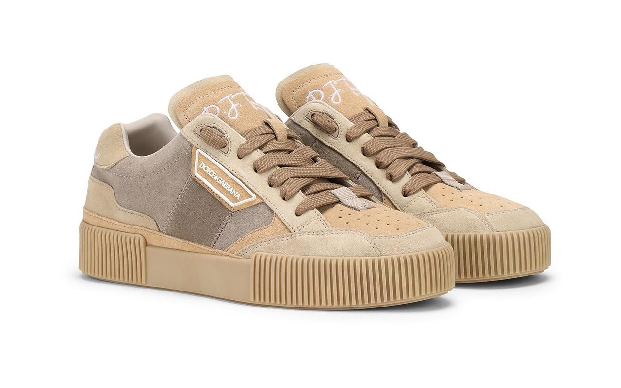 PJ Tucker Dolce Gabbana Miami Sneakers Beige