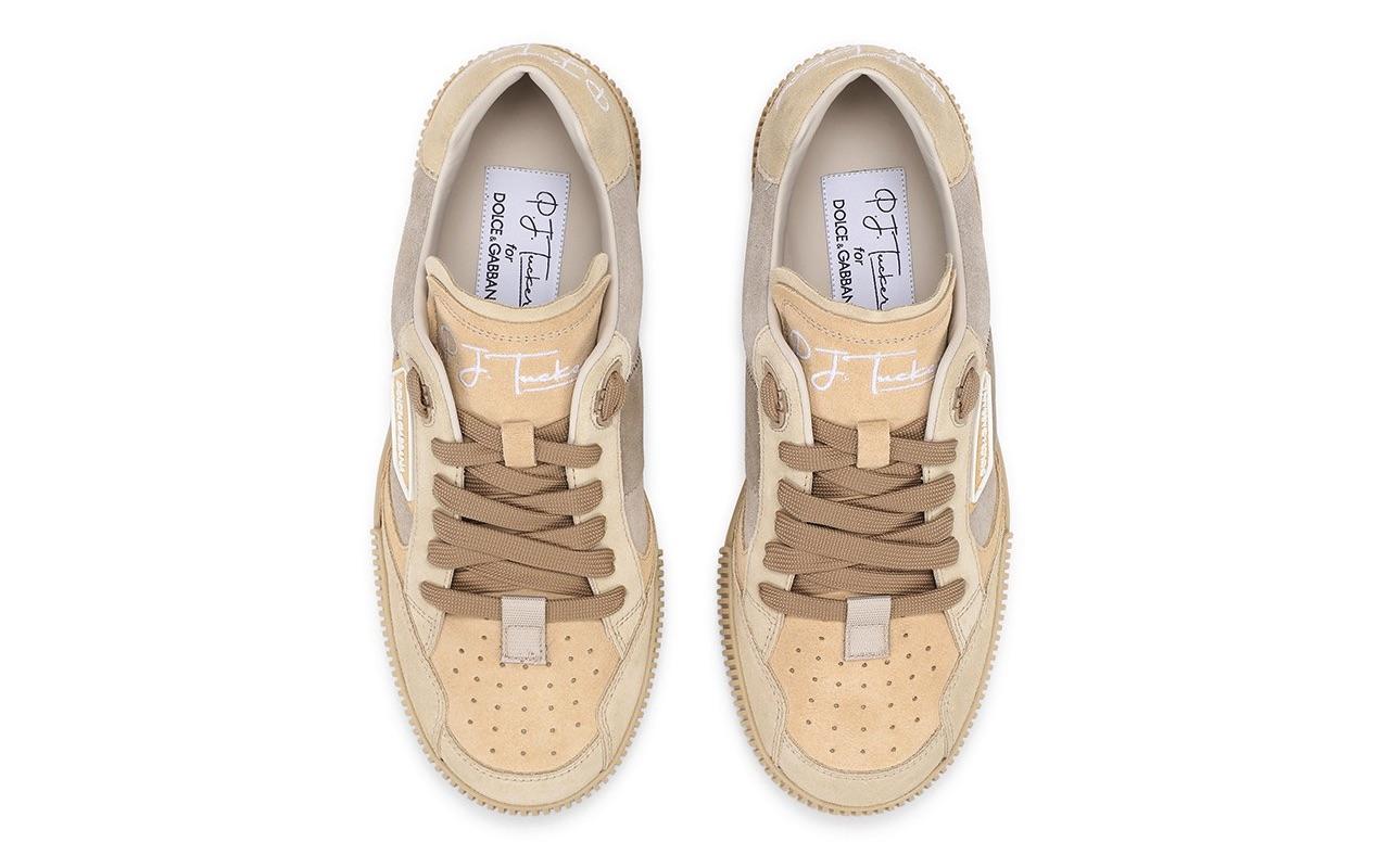 PJ Tucker Dolce Gabbana Miami Sneakers Neutral
