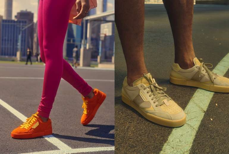 PJ Tucker Dolce Gabbana Miami Sneakers Orange Beige