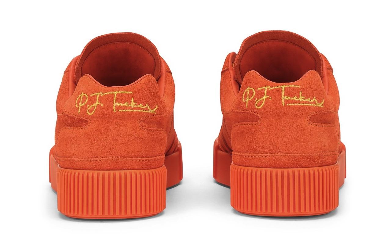 PJ Tucker Dolce Gabbana Miami Sneakers Sicilian Orange Price
