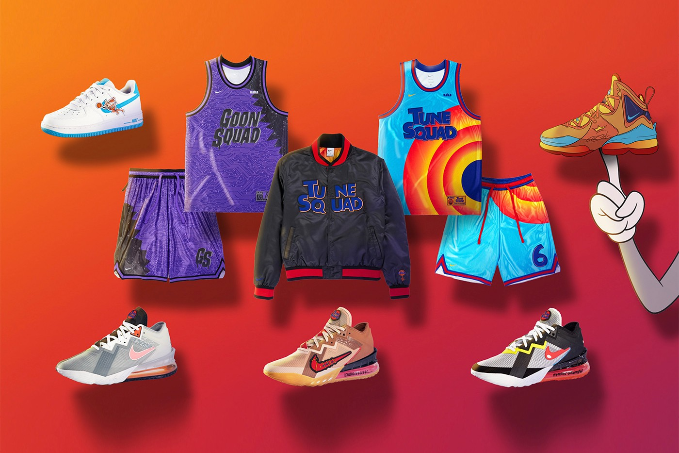 Space Jam A New Legacy Nike Collection
