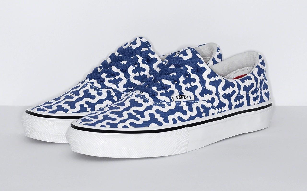 Supreme x Vans Skate Era Spring 2021 Blue