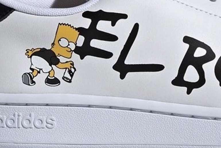 The Simpsons Adidas Advantage El Barto Version
