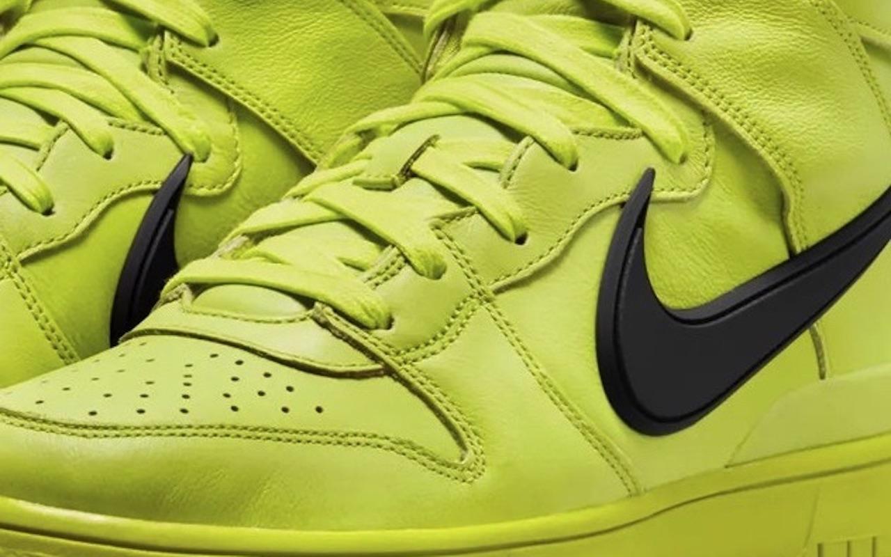 AMBUSH x Nike Dunk High Flash Lime Price