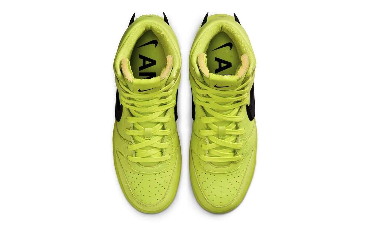 AMBUSH x Nike Dunk High Flash Lime Release Date