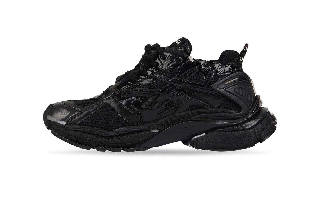 Balenciaga Runner Sneaker Black 2