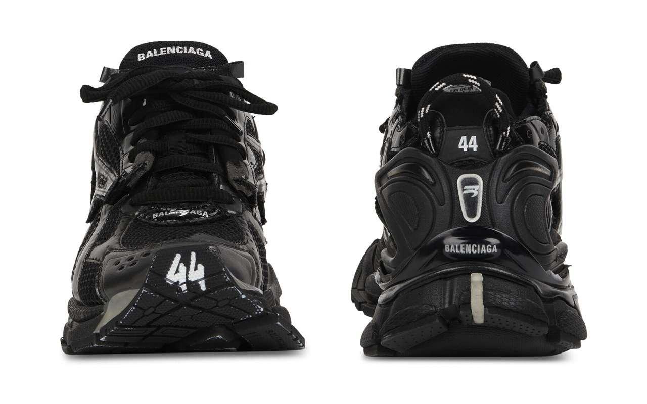 Balenciaga Runner Sneaker Black Price