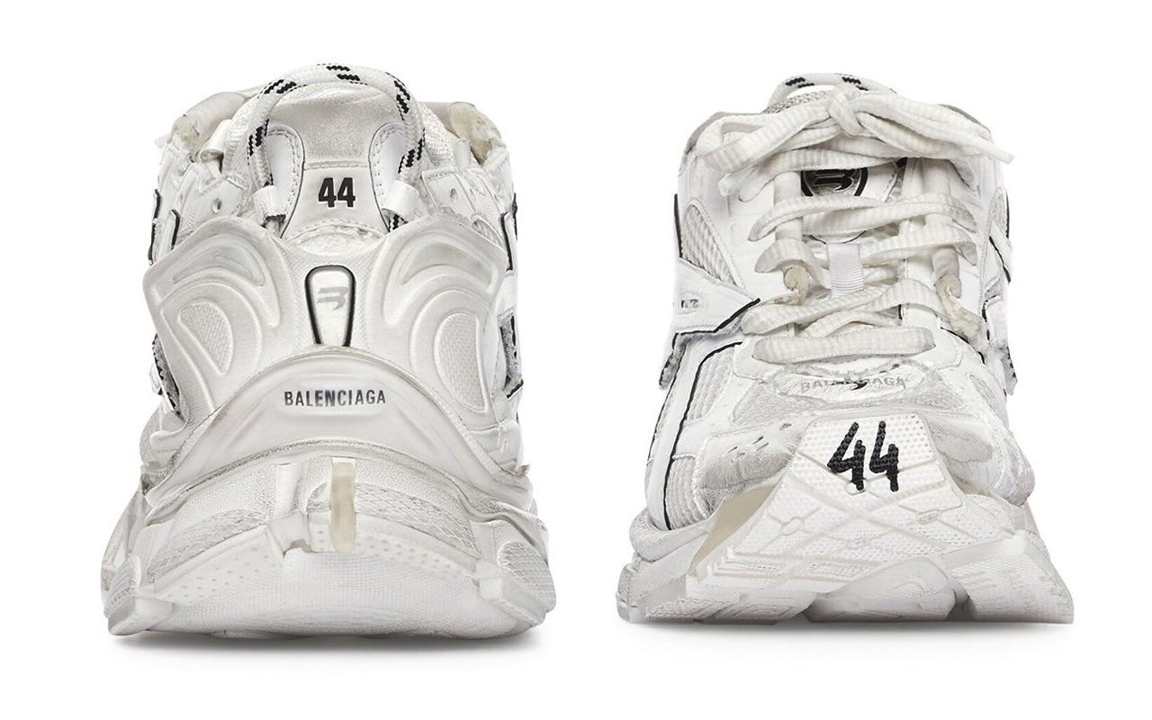 Balenciaga Runner Sneaker White Design