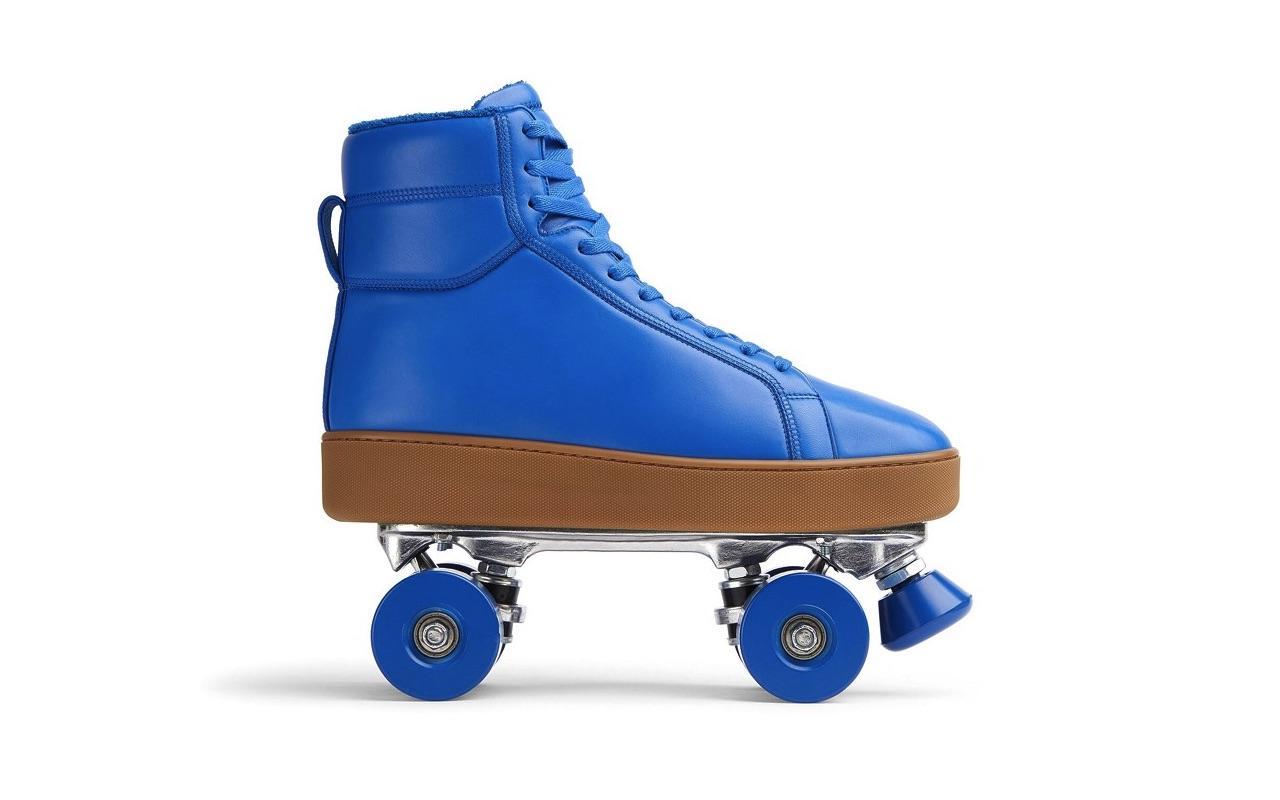 Bottega Veneta Quilt Roller Skates Cobalt Price