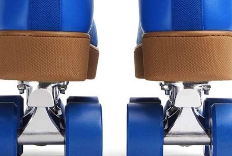 Bottega Veneta Quilt Roller Skates Design