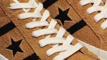 Converse Stars and Bars Clogs Gold Black Design