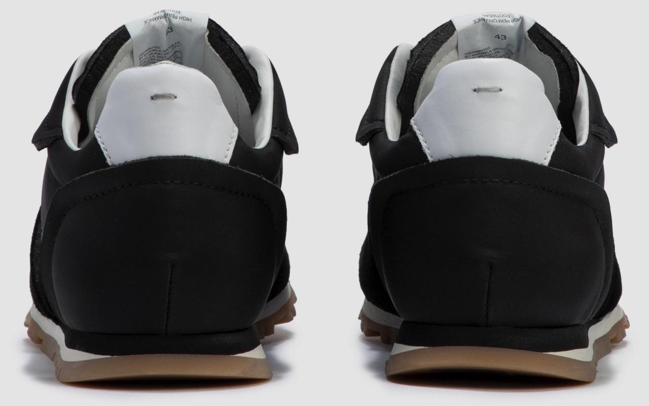 Maison Margiela Nylon Runner Black White Gum Fall 2021
