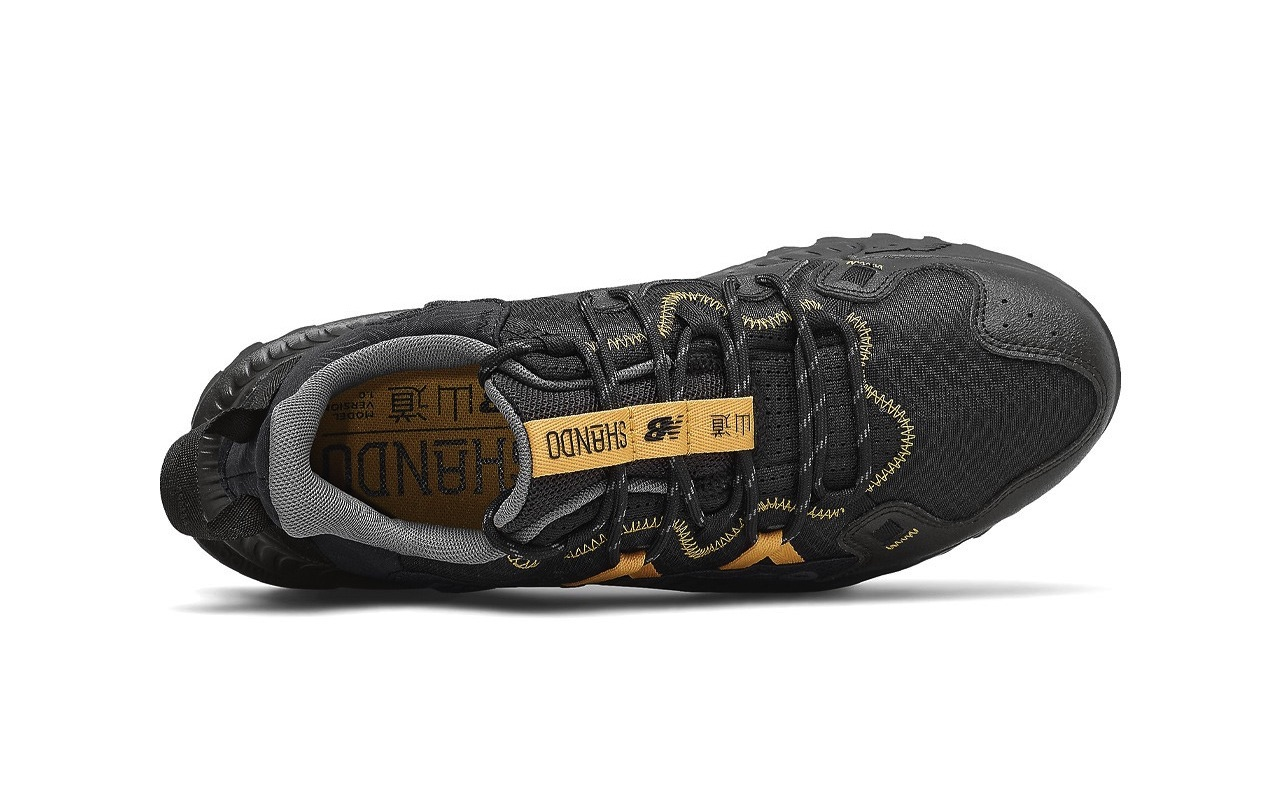 New Balance Shando Trail Sneakers Black Gold 2